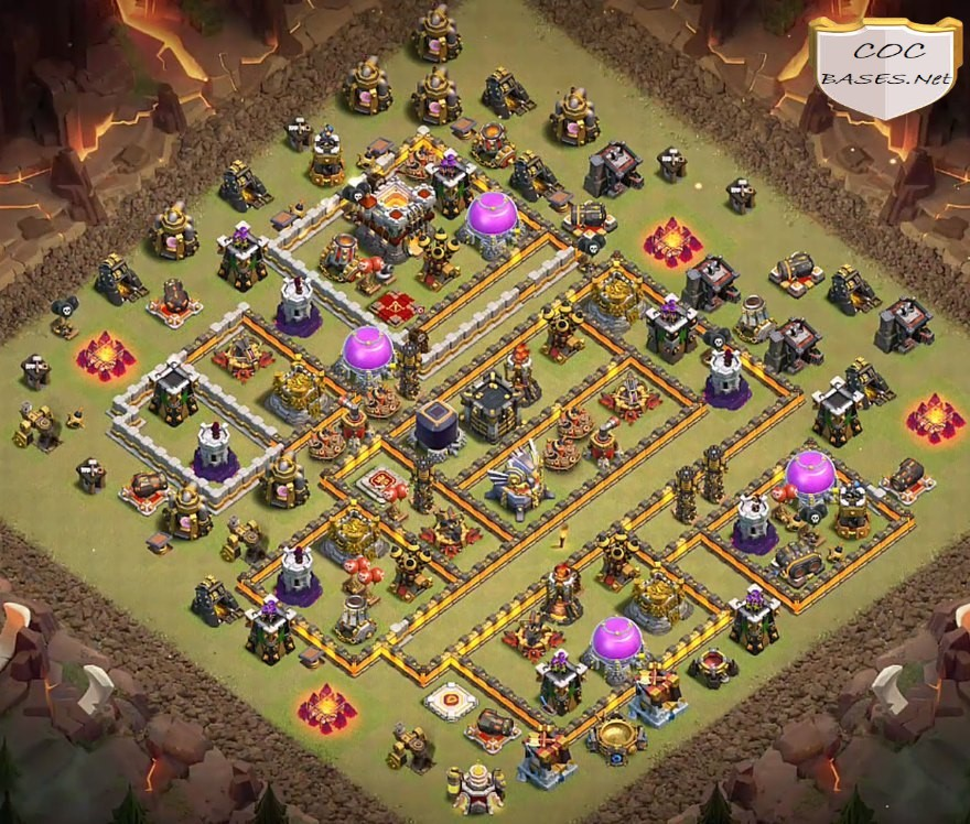 Best TH11 War Base