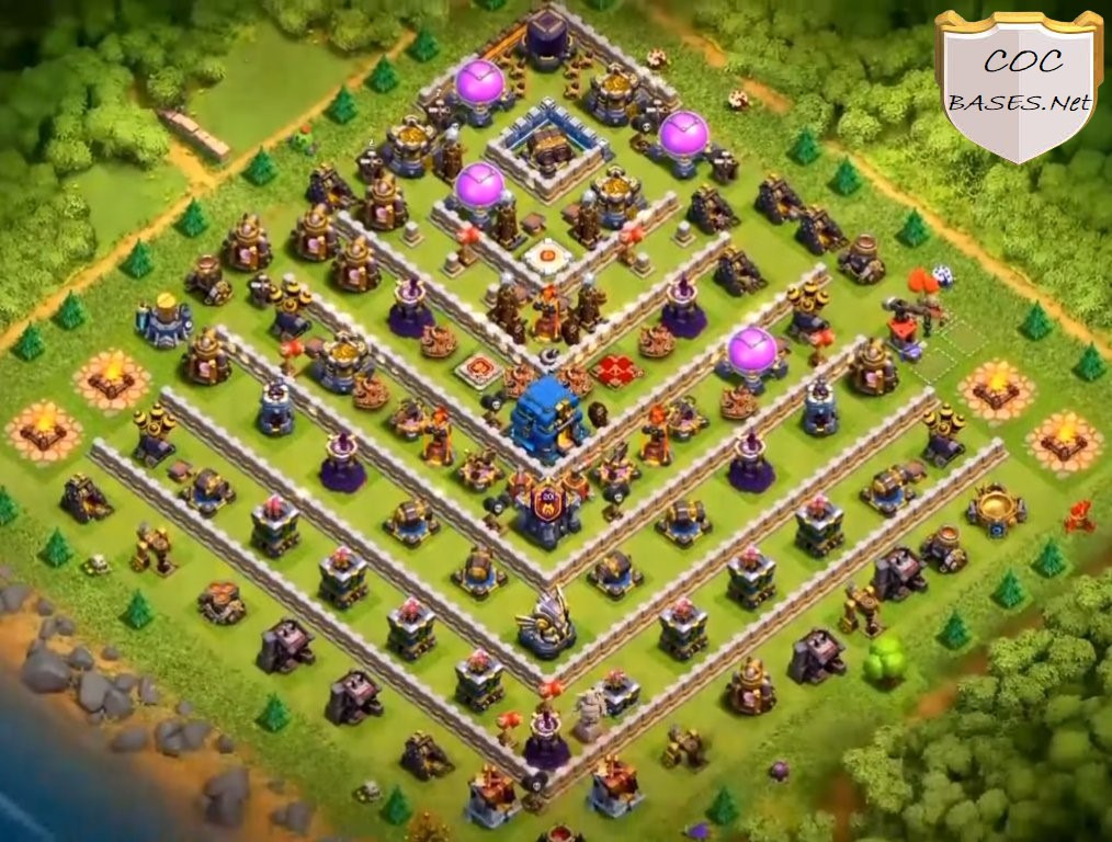 Best th12 trophy bases