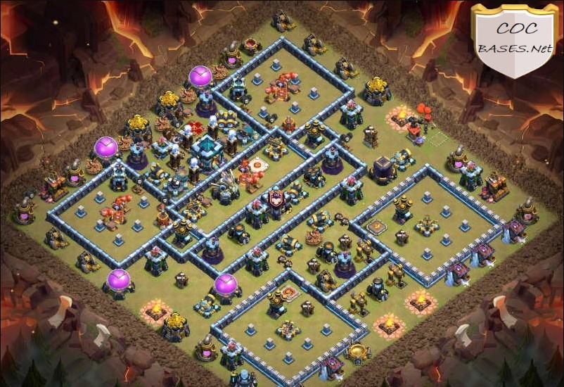 Th13 farming layouts