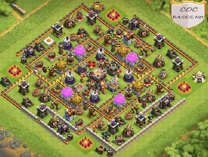 best th11 farming base links
