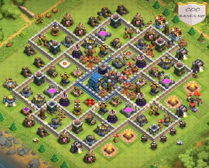 best th12 farming bases