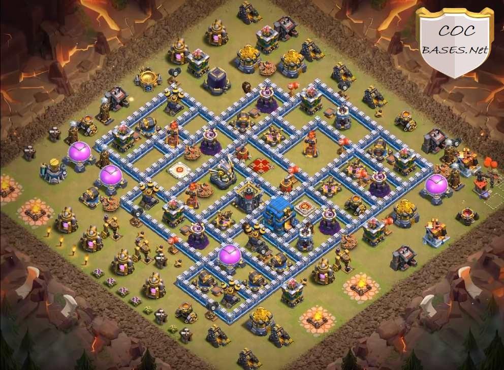 best th12 war bases