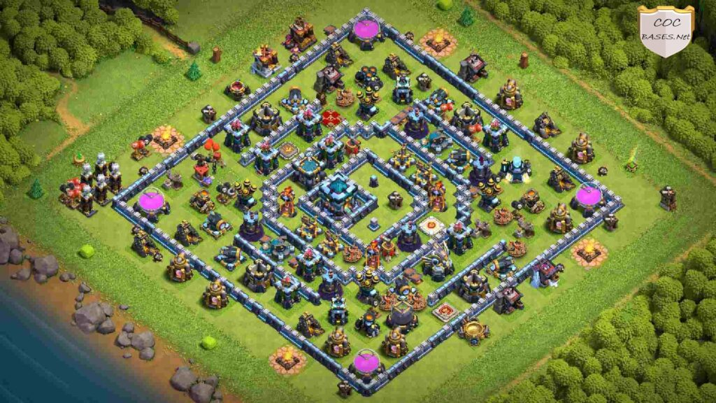 best th13 farming base links