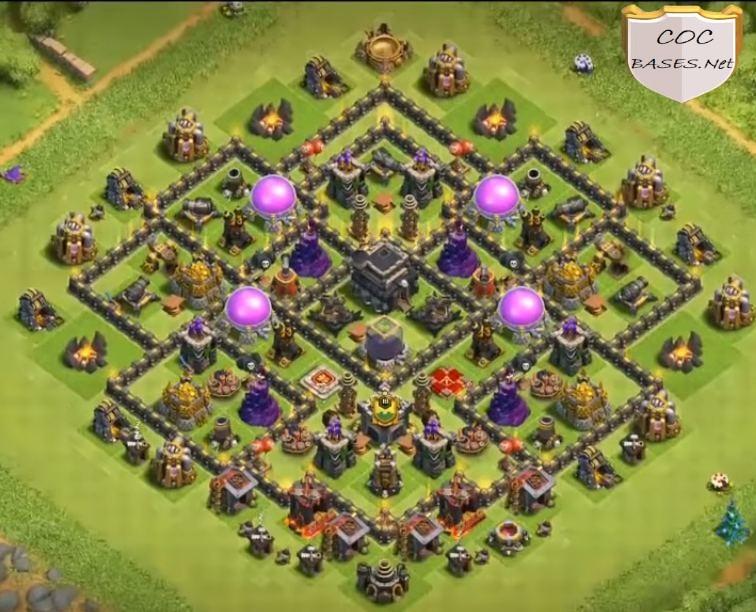 best th9 farming base links