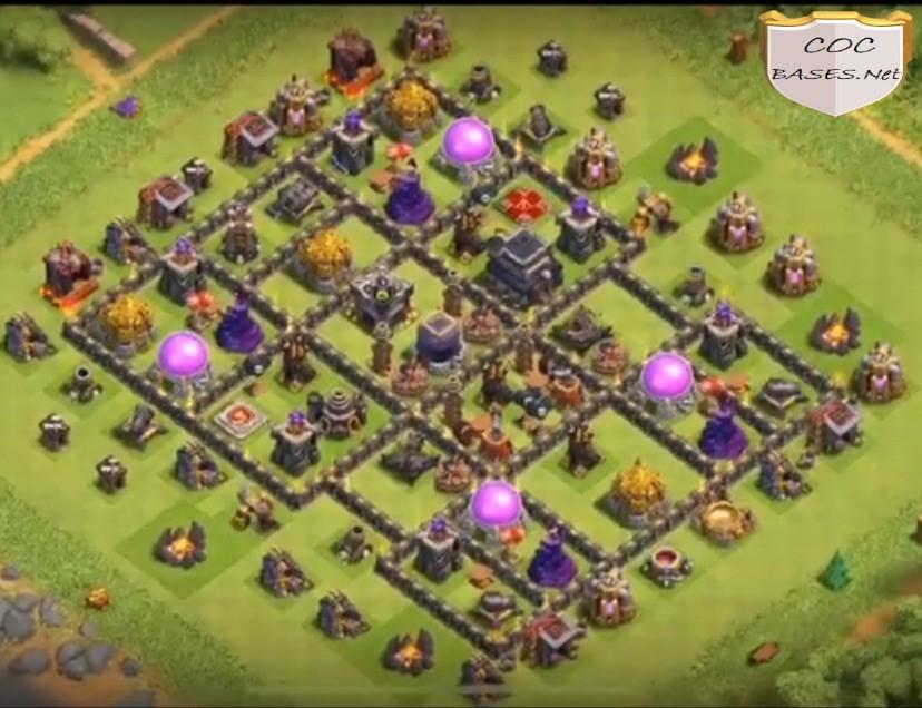 best th9 farming base