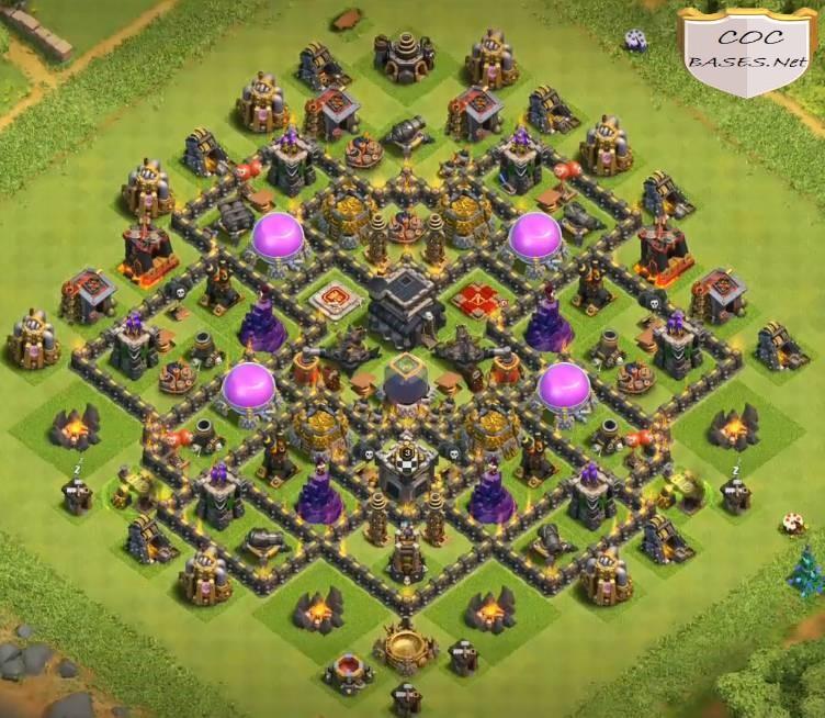 best th9 farming bases
