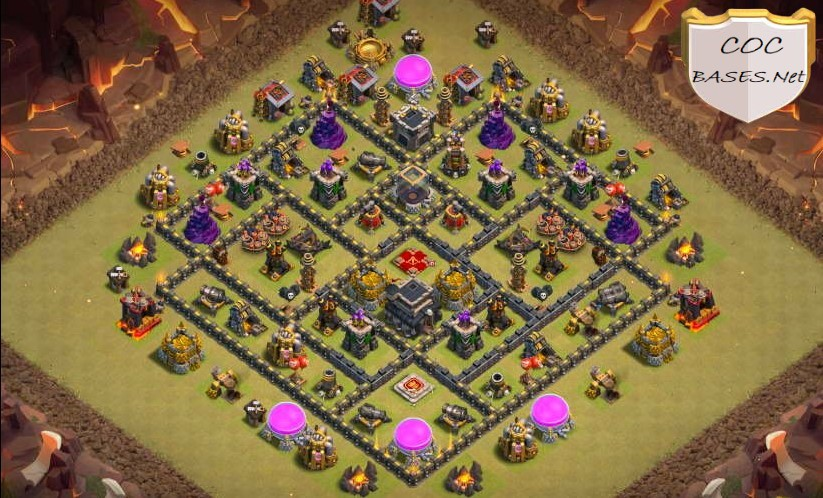 best th9 trophy bases