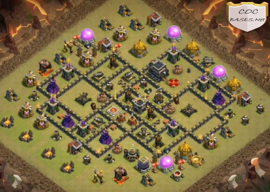 best th9 war bases