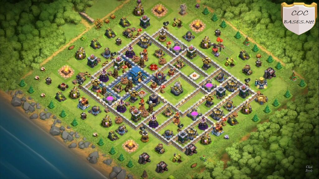 best townhall 12 farming bases