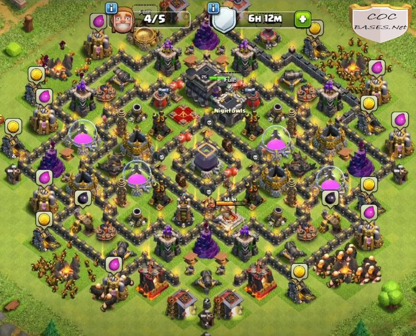 best townhall 9 farming bases