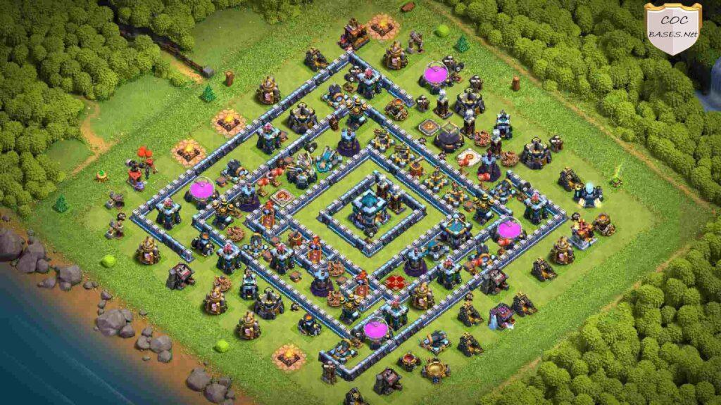 coc th13 farming base layout link