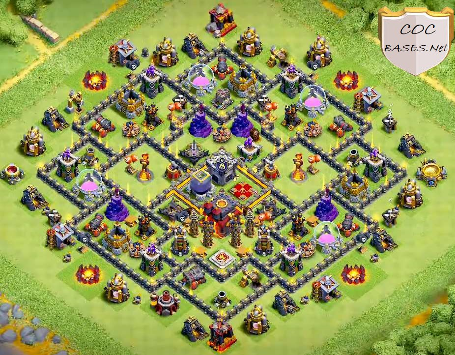 farming th10 layout link