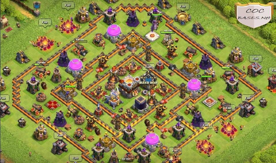 farming th11 base link
