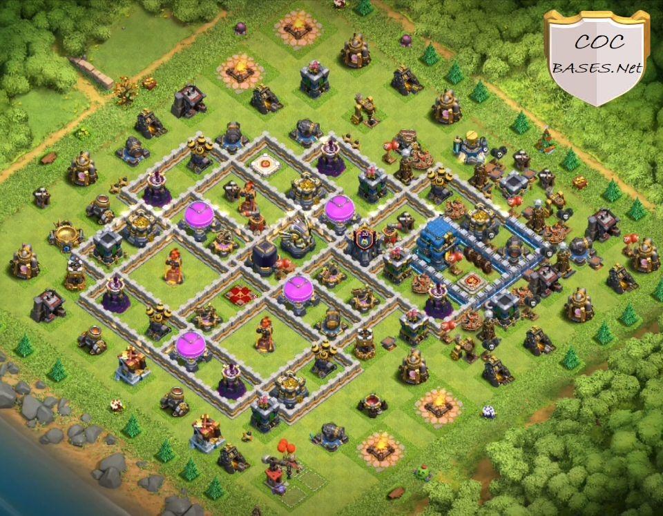 farming th12 base link