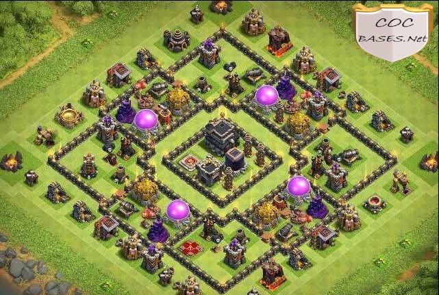 farming th9 base link