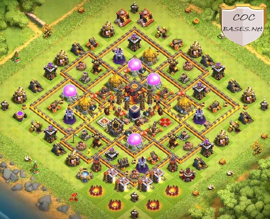 level 10 farming base link anti 3 stars
