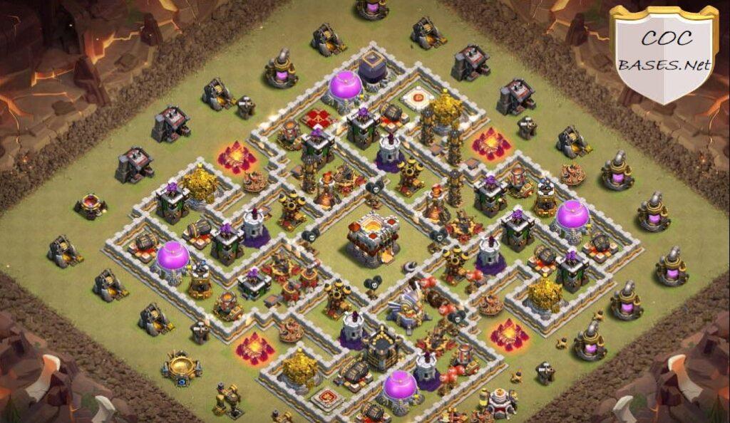 level 11 farming base link anti 3 stars