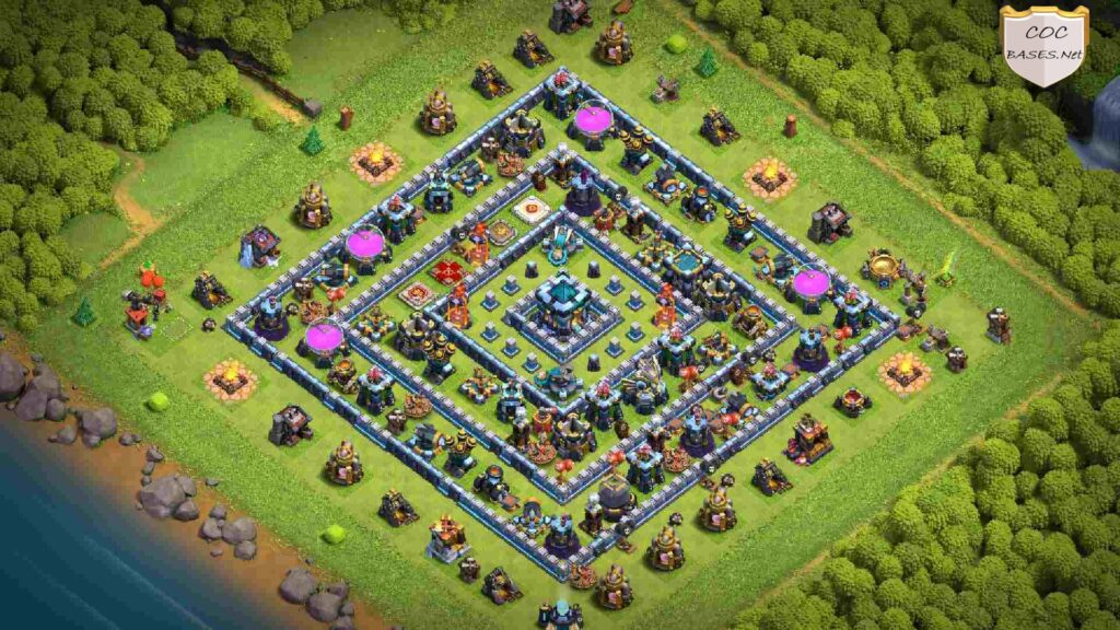 level 13 farming base link anti 3 stars
