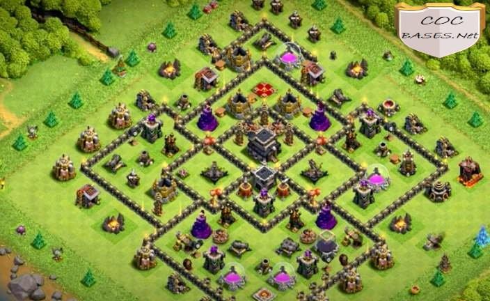 level 9 farming base link anti 3 stars