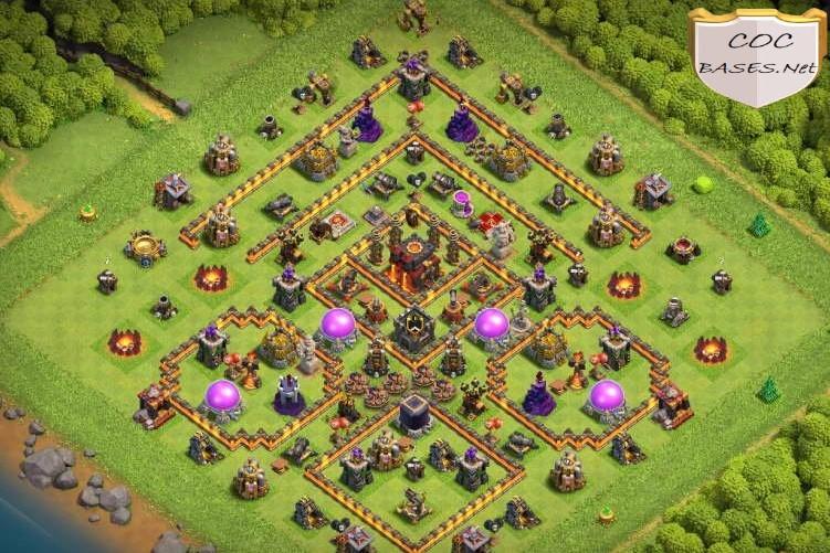 th10 farming base