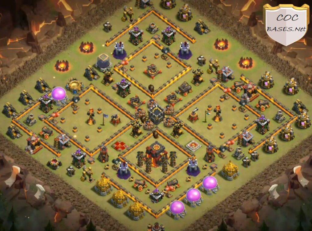 th10 war base anti 2 star