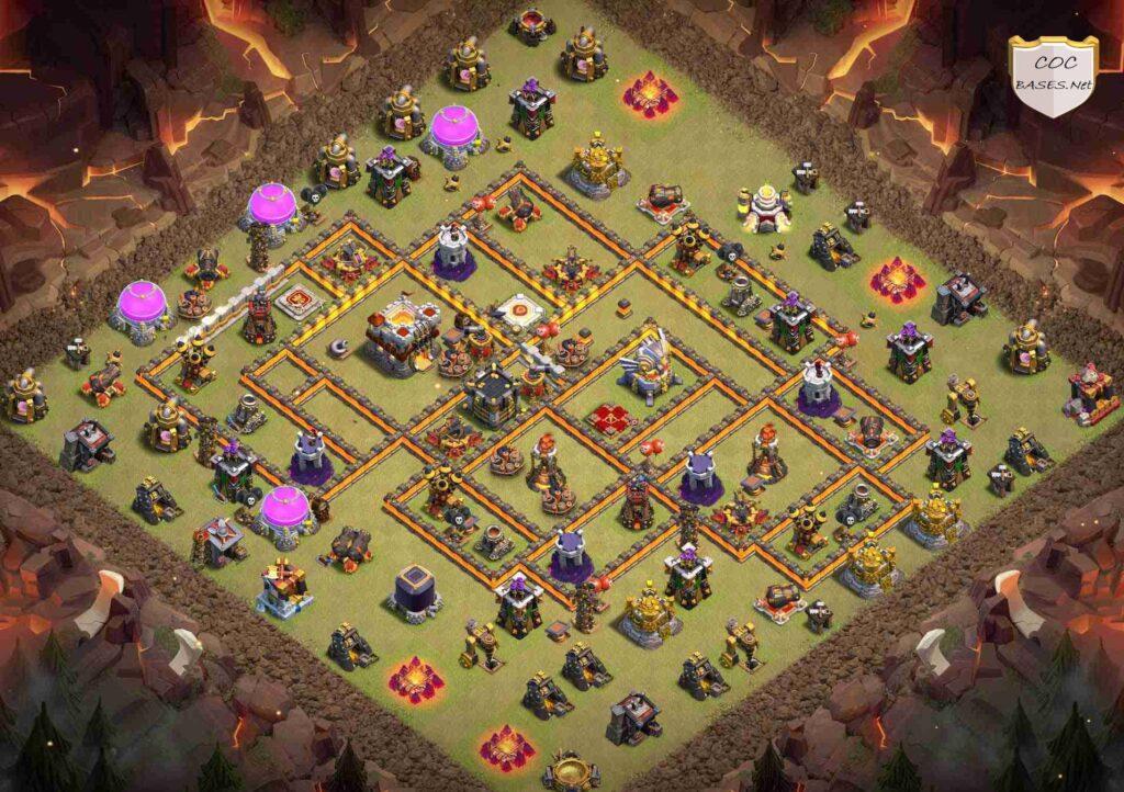 th11 war base anti 2 star