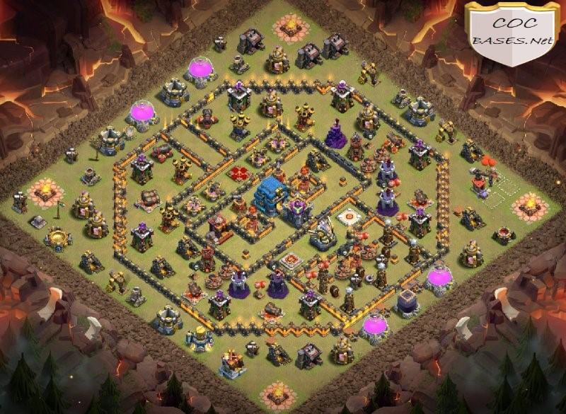 th12 war base anti 2 star