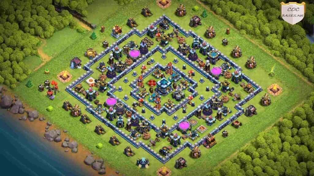 th13 farming base