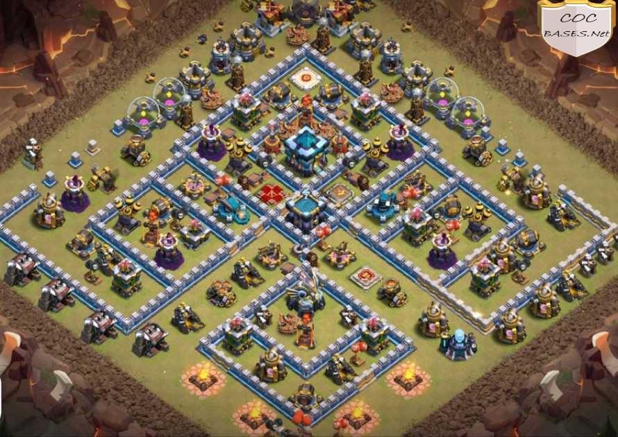 th13 war base anti 2 star