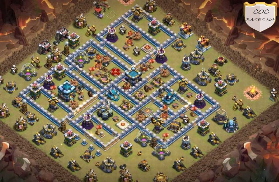 th13 war base without scattershot