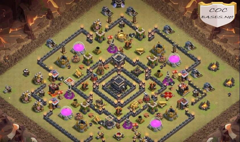 th9 war base anti 3 star