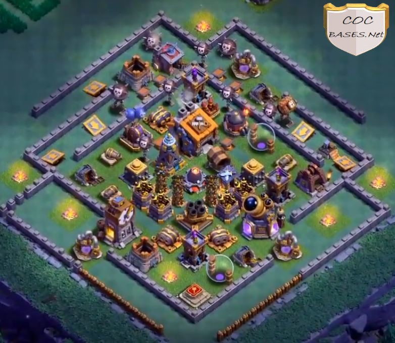 bh9 base without lava launcher