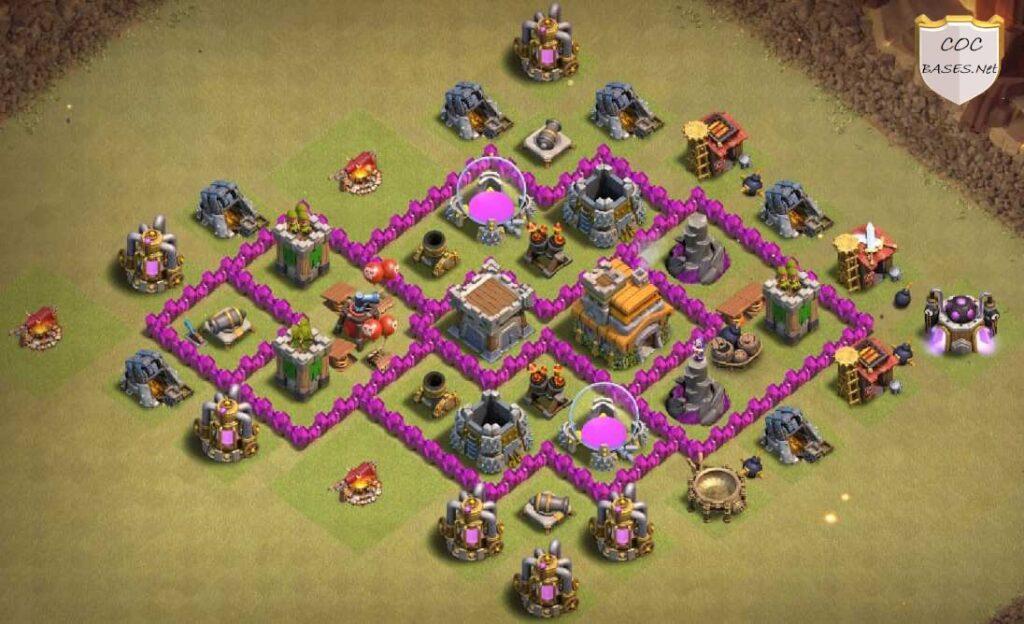 Th6 farming bases