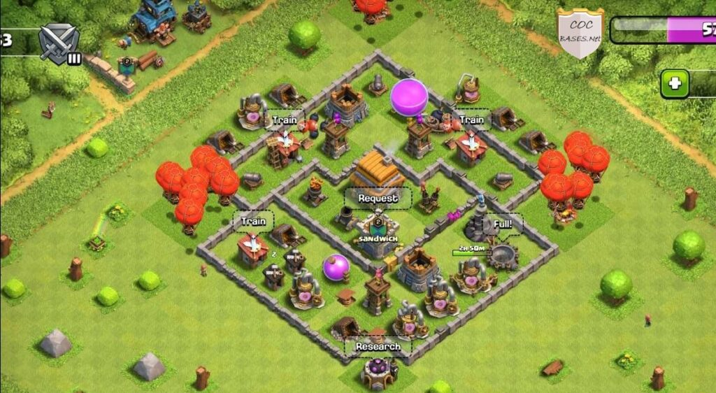 Th6 trophy bases