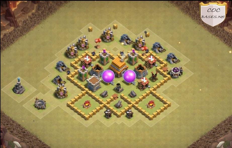 best th5 war base links