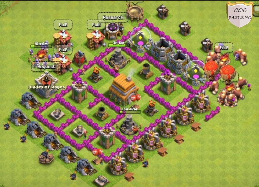 farming th6 base link