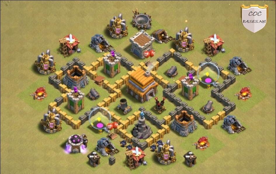 th5 war base anti 2 star