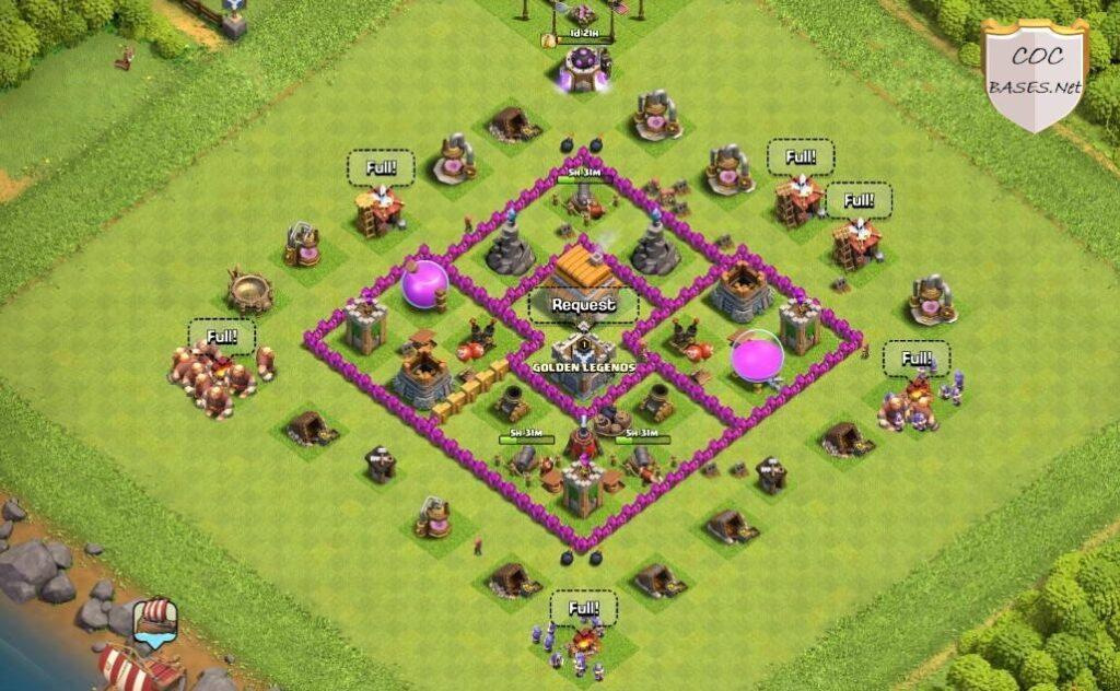 th6 farming base