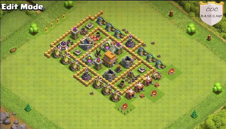 th6 farming base links